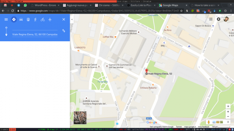 Dove siamo – maps