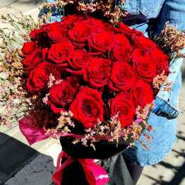 Bouquet di rose rosse extra – 20210514 100518