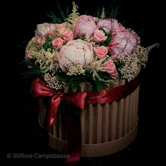 Flowerbox con rose rosa e peonie – 20200530 192706 4