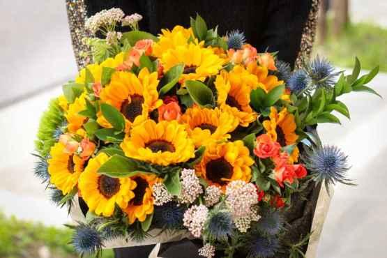 Bouquet di girasoli – IMG 8031