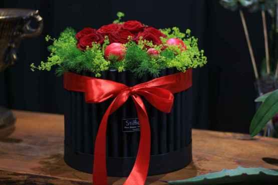 Flowerbox con rose rosse e peonie – IMG 8820 13