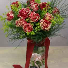 Bouquet di rose rosse e gialle – IMG 9078 12