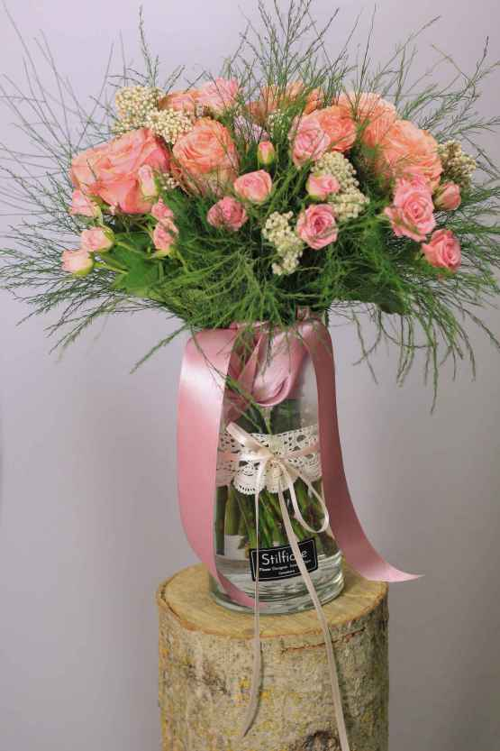 Bouquet di rose rosa – IMG 9095 15