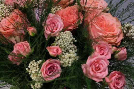 Bouquet di rose rosa – IMG 9096 16