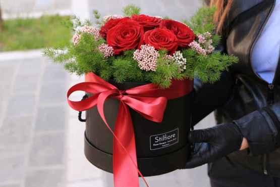 Flowerbox di Rose rosse – IMG 9120 1