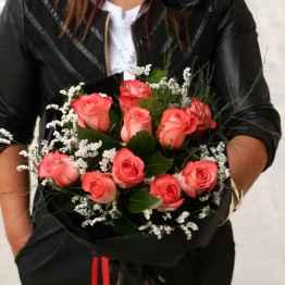 Bouquet di rose arancio – IMG 9864 e1594113498221