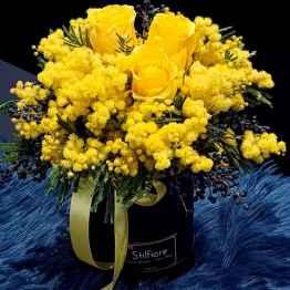 Flowerbox con mimosa e fiori misti – 20210301 134623 e1615129913320